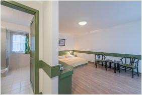 Bathroom, Abbazia Club Hotel, Keszthely