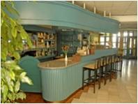 Bar desk, Abbaza Club Hotel, Keszthely