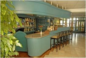 Bar desk, Abbazia Club Hotel, Keszthely