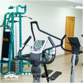 Abbázia Country Club, Fitness terem