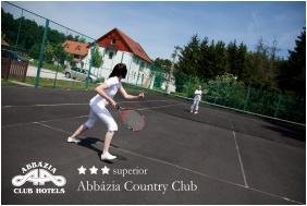Teniszpálya - Abbázia Country Club
