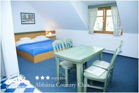 Abbázia Country Club, Franciaágyas szoba