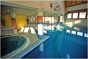 Inside pool, Club Dobogomajor, Cserszegtomaj