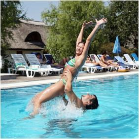 Outside pool - Club Dobogomajor