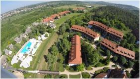 View from above, Club Dobogomajor, Cserszegtomaj