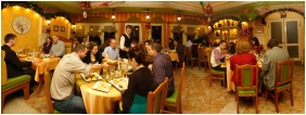 Hotel Alfa, Restaurant - Miskolctapolca