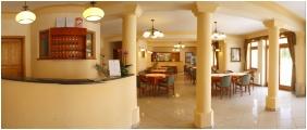 Hotel Ametiszt, Reception