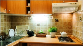 Kitchen, Apartman Hotel, Buk, Bukfurdo