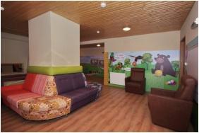 Aqua Hotel, Játszószoba gyerekeknek