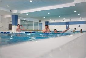 Hotel Aqua, Kistelek, Inside pool