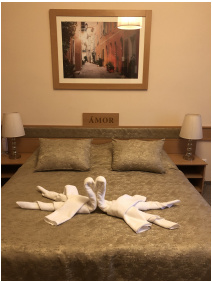 szobabelső, Aquasol Resort, Mosonmagyaróvár