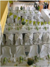 Aranyhomok Business & Wellness Hotel, Kecskemét, Esküvői teríték