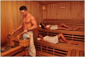 Sauna - Arcanum Hotel