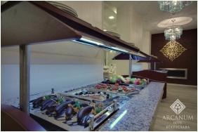 Dining room, Arcanum Hotel, Bekescsaba