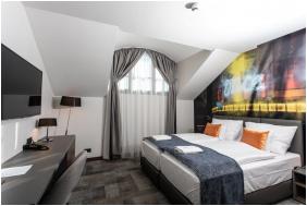 szobabelső, Artis Boutique Hotel, Szombathely