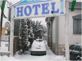 Hotel Attıla, Budapest, İn the wınter