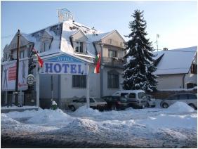 İn the wınter, Hotel Attıla, Budapest