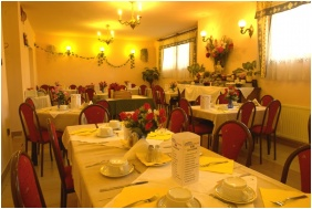Sala di colazione, Hotel Attila, Budapest