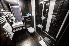 Bathroom, Auris Hotel Szeged, Szeged