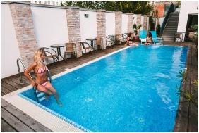 Outsıde pool, Aurıs Hotel Szeğed, Szeğed