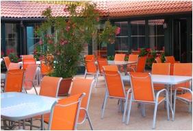 Pension Bacchus, Terrace - Eger