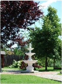 Pension Bacchus, Eger, Garden
