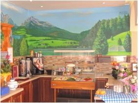 Buffet breakfast - Bajor Pension Aparthotel