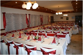 Esküvői teríték, Hotel Bakony, Bakonybél