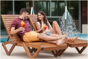 Balneo Hotel Zsori Thermal & Wellness, Mezokovesd, Terrace