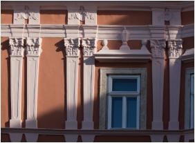 Homlokzat, Barokk Hotel Promenád, Gyôr