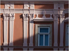 Front view, Barokk Hotel Promenad, Gyor