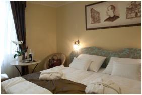 Barokk Hotel Promenád, Gyôr, Kétágyas szoba