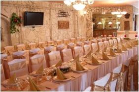 Bástya Wellness Hotel, Esküvői teríték