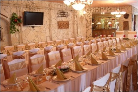 Wellness Hotel Bastya, Weddingmeal setting
