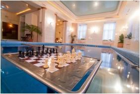 Inside pool, Castle Hotel Batthyany, Zalacsany