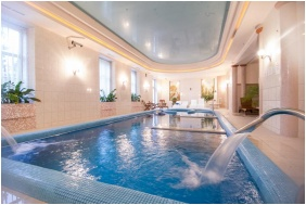 Inside pool - Castle Hotel Batthyany