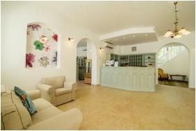 Reception area, Batthyany Manor House, Zalacsany