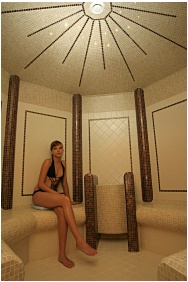 Hotel Aquarell, Steambath
