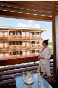 Hotel Aquarell, Ceğled, Balcony