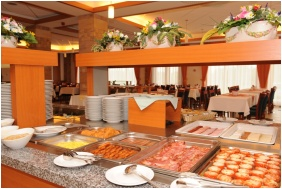 Buffet breakfast, Hotel Aquarell, Ceğled