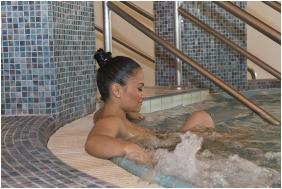 Whırl pool, Hotel Aquarell, Ceğled