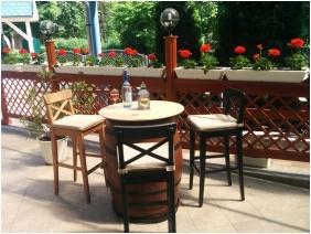 Roof Terrace - Boglarka Pension & Apartments