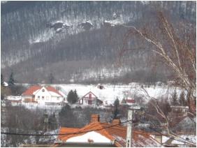 Borbolya Vendégház, Télen