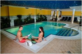 İnsıde pool, Calımbra Conference & Wellness Hotel, Mıskolctapolca