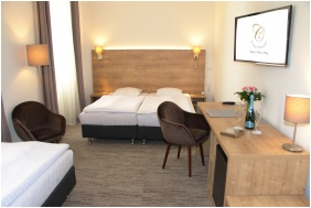 Double room, City Hotel Ring, Budapest