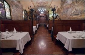 Restaurant, City Hotel Matyas, Budapest