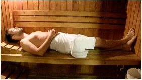 Finnische Sauna, Hotel Phonix, Tiszaujvaros