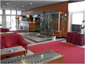 Lobby, Hotel Phonix, Tiszaujvaros