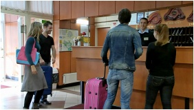 Hotel Phonix, Reception area - Tiszaujvaros
