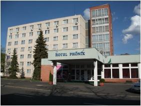 Exterior view, Hotel Phonix, Tiszaujvaros